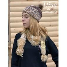 Golden scarf